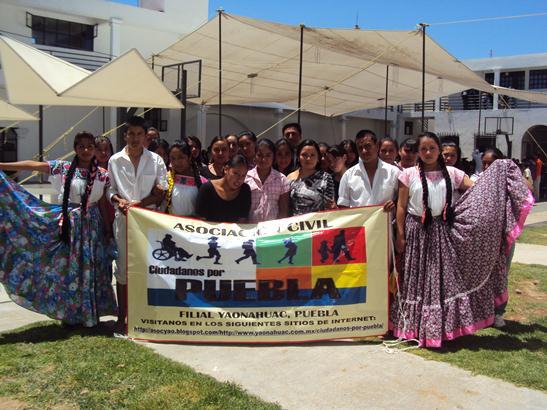 CLUB DE DANZA CIUDADANOS POR PUEBLA, PROGRESO SOCIAL CON DEMOCRACIA A. C