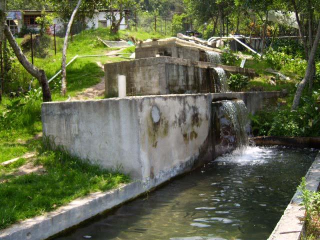Galer a del r o de los berros santiago yaon huac puebla for Estanque de truchas