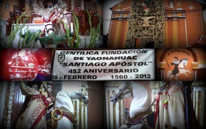 Yaonáhuac Puebla México 452 Aniversario de su fundación. 1560 – 2012.